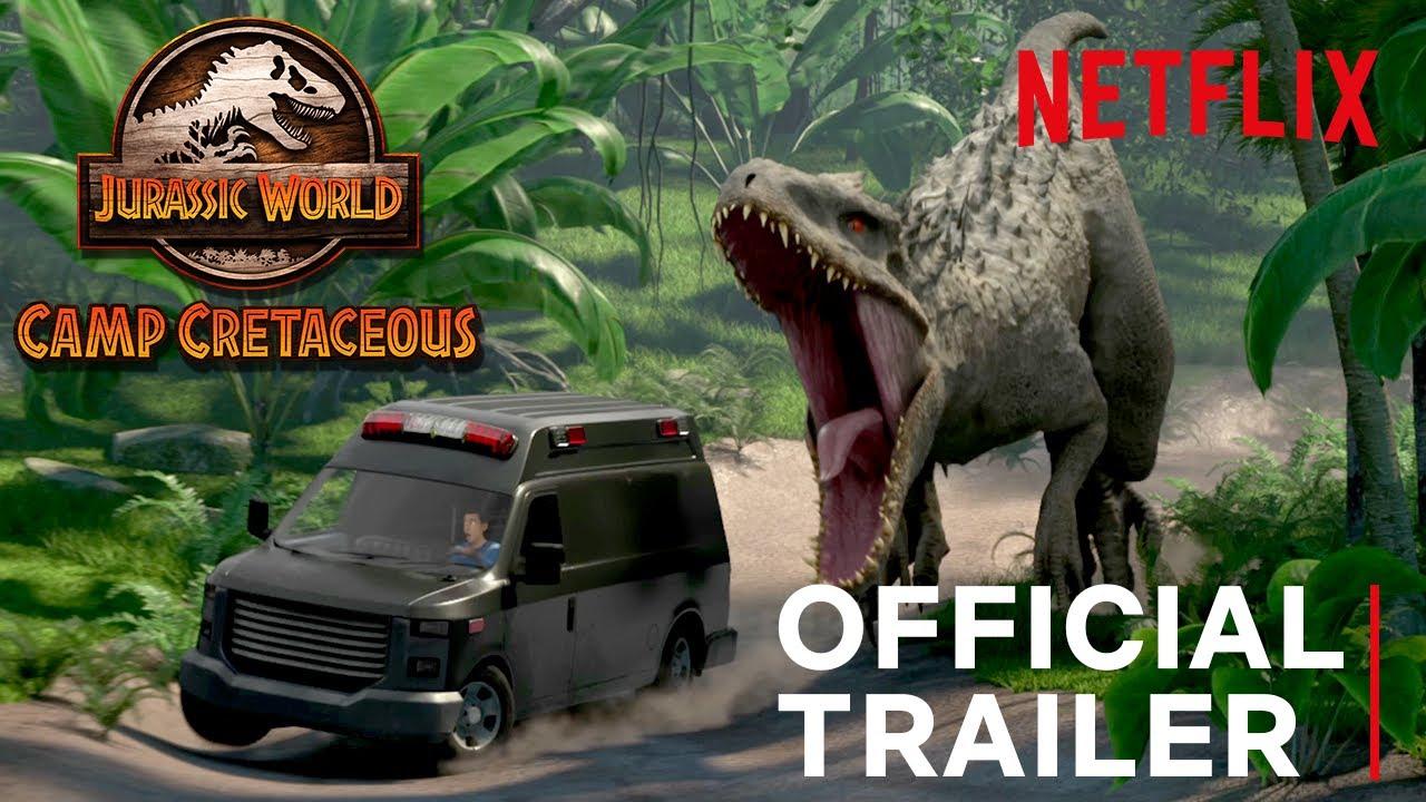Jurassic World Camp Cretaceous | Official Trailer | Netflix