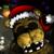 Golden Freddy Santa