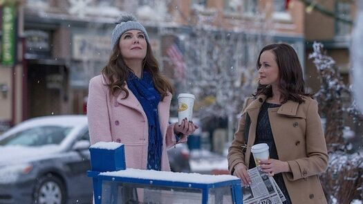 """Oh My God, There Are Even More Photos From """"Gilmore Girls: A Year In The Life"""""""