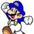 Glitchy Mario