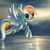 Rainbow Dash fan2