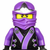 Purple ninja go