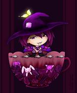 Hunter - violette teacup