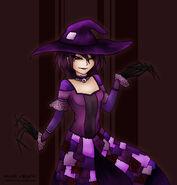 Hunter - feral violette