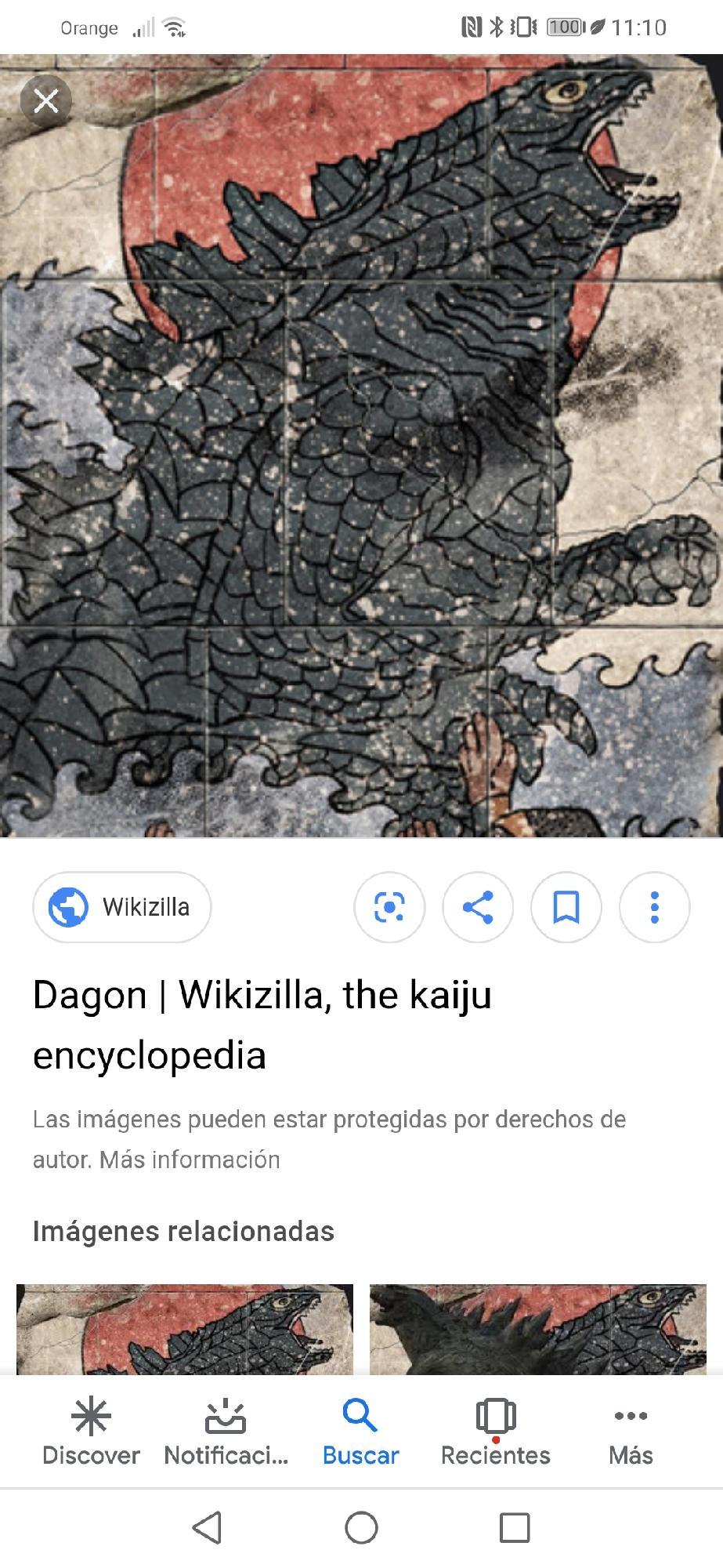 Dagon el ancestro de godzilla