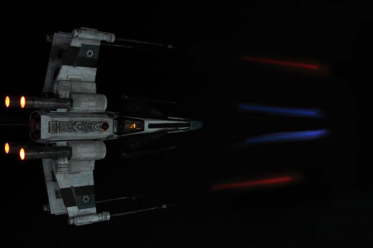 X-WING STARFIGHTER - личный трофей Дарта Вейдера