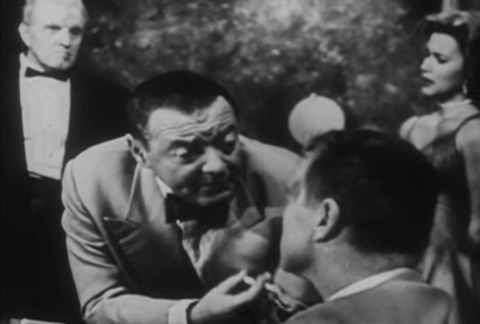 Ле Шиффр, Валери Матис и Джеймс Бонд (Казино Рояль 1954).jpg