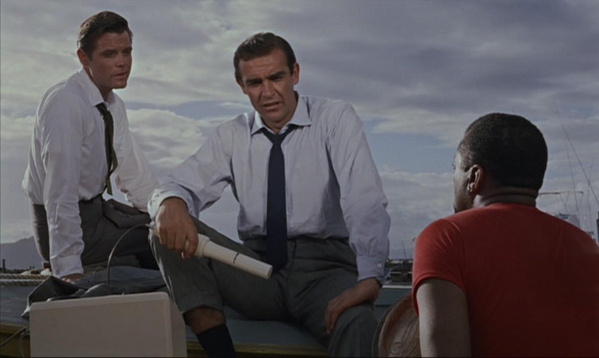 Bond, Felix, and Quarrel (Dr. No).jpg