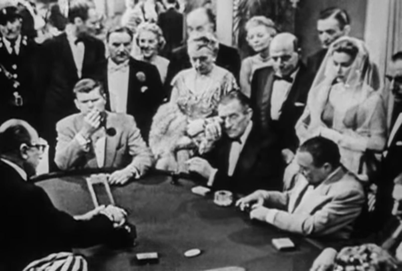 Бонд и Ле Шиффр (Казино Рояль 1954).jpg