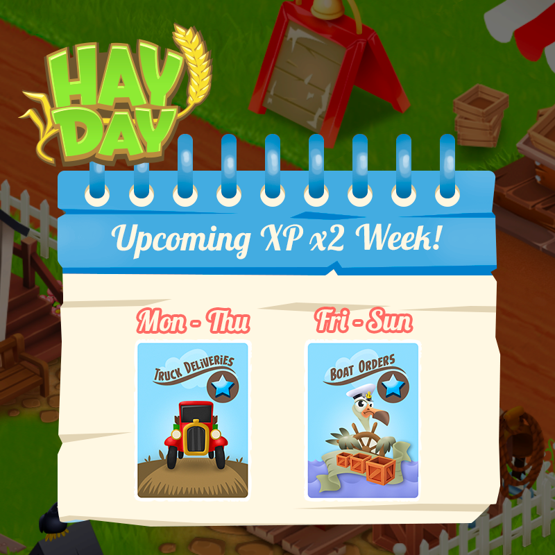 Events - Special XP Week
