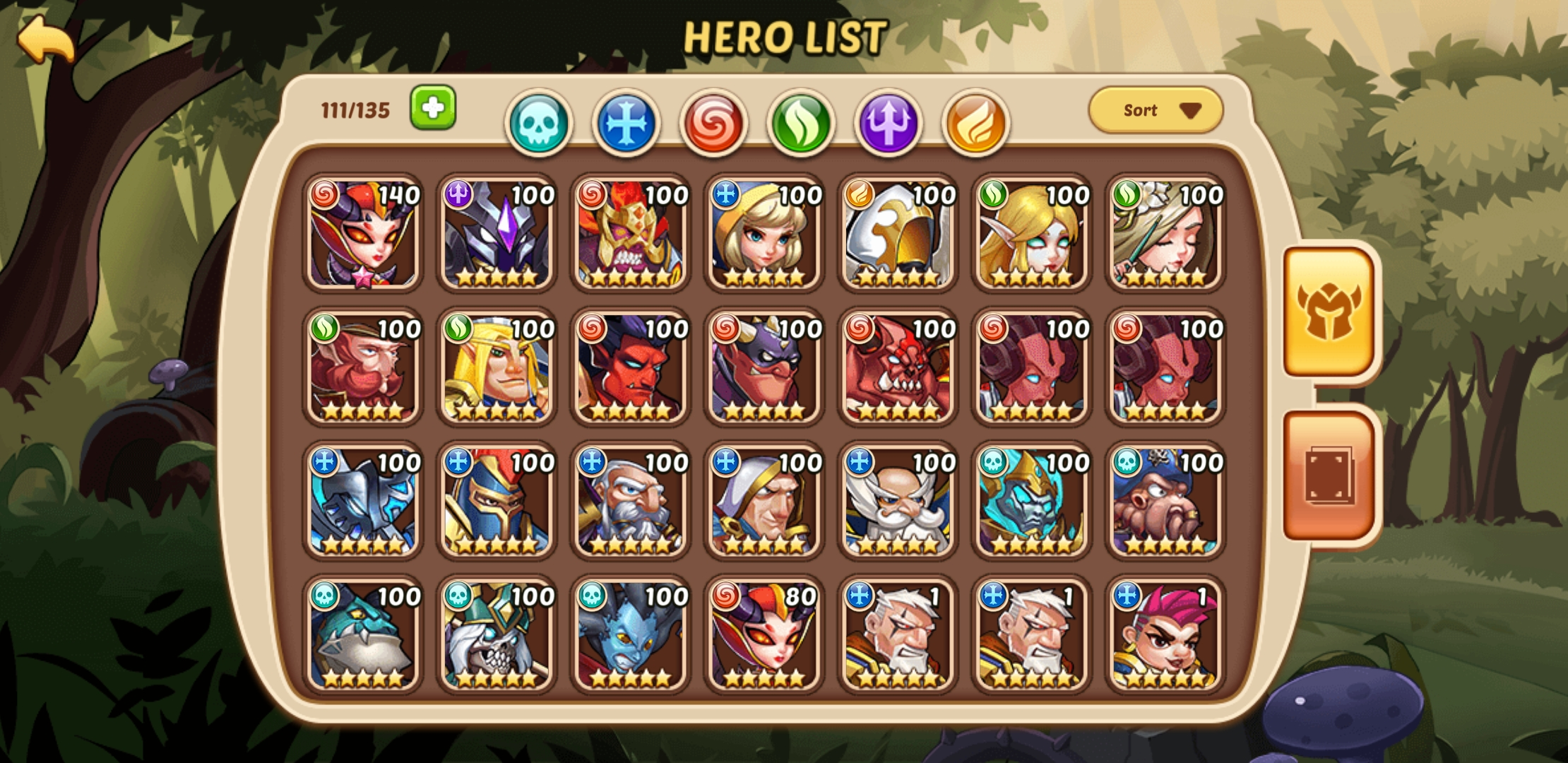 Can someone Help me Ford an Gold pvp Team and an great pve Team with this heroes?!