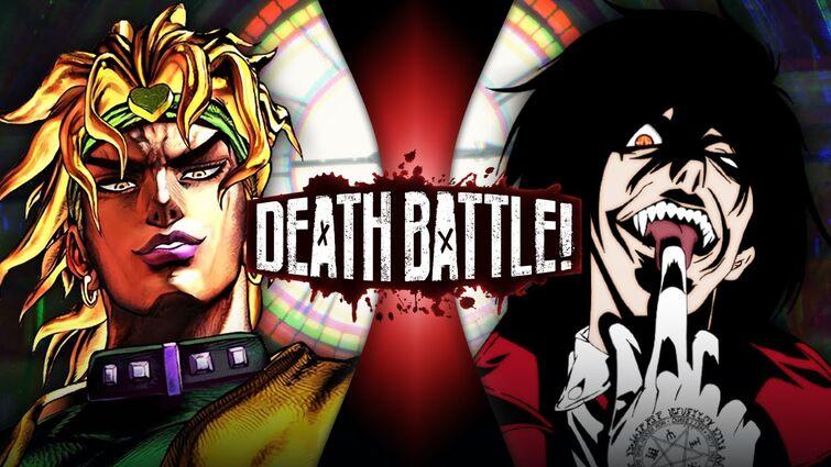 DIO VS Alucard (JoJo's Bizarre Adventure VS Hellsing) | DEATH BATTLE!