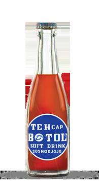 Teh Botol Sosro's previous logos