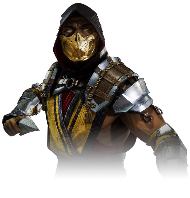 This is Netherrealm undead ninja Scorpion.