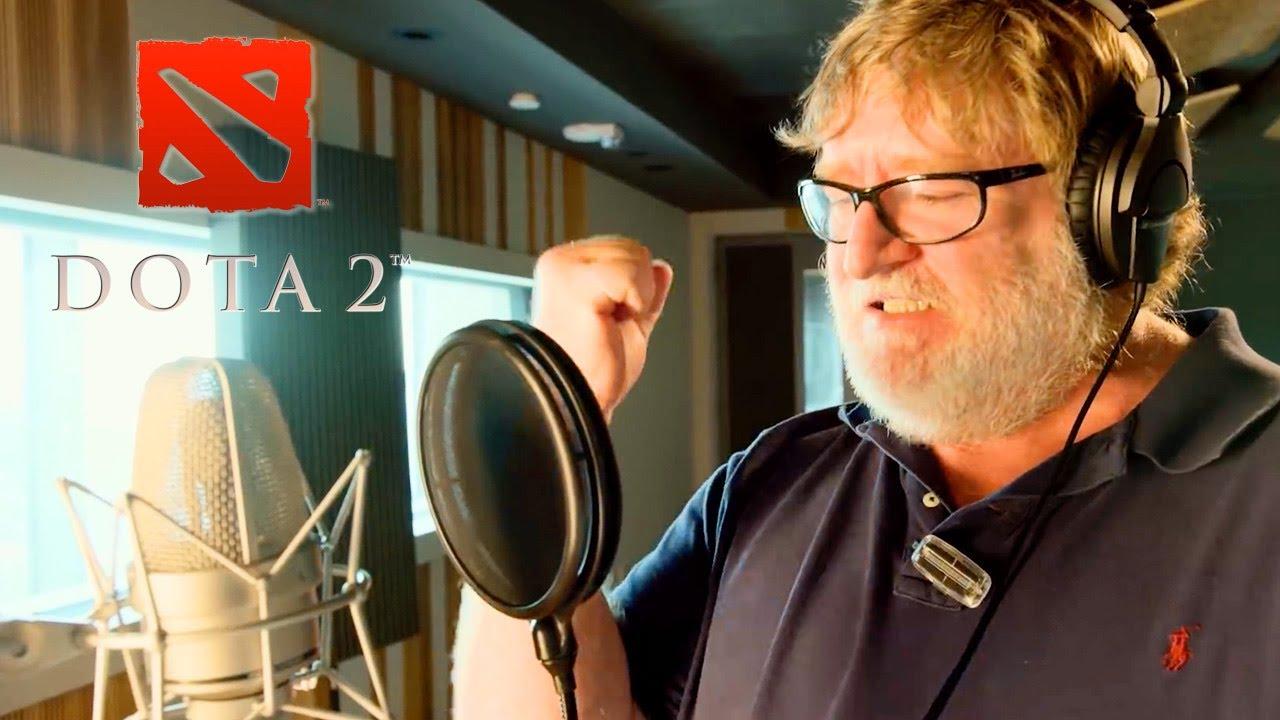 Dota 2 - Gabe Newell Mega-Kills Announcer Pack Trailer | Gamescom 2018