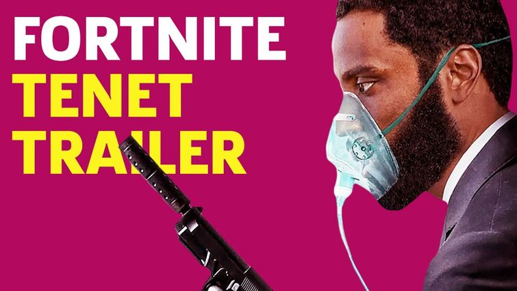 Fortnite - Tenet Trailer Revealed In Party Royale (Live Event)