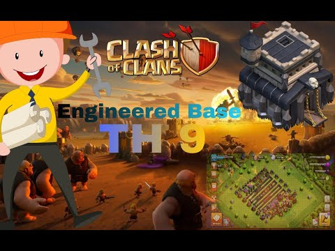 Engineered Base!!What??🤔||TH 9||Farming Army||🔴Live Attack🔴||Giapezard Strategy||🔥🔥