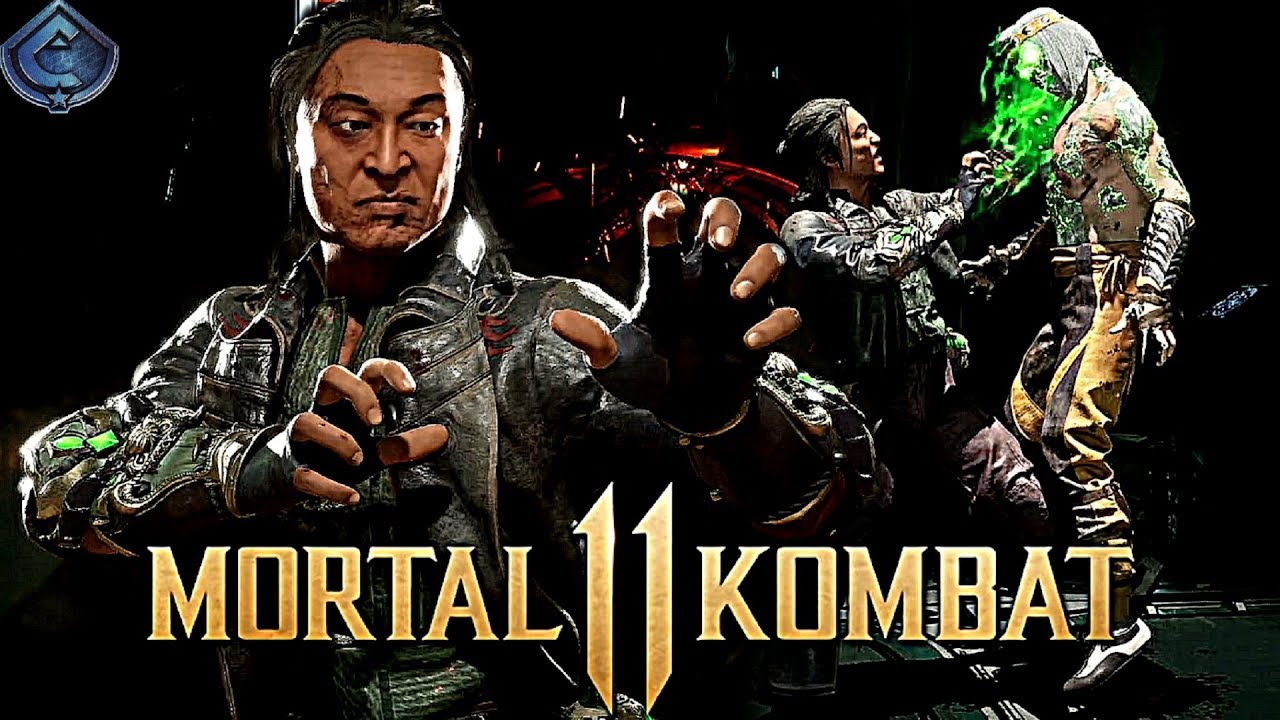 Shang Tsung meu personagem favorito no Mk 11 2000 mil vtr On LINE😎🎮