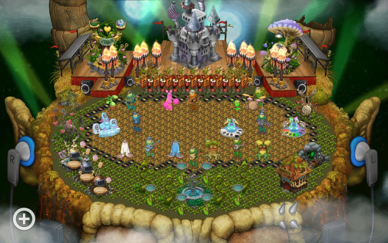 My shugabush island so far