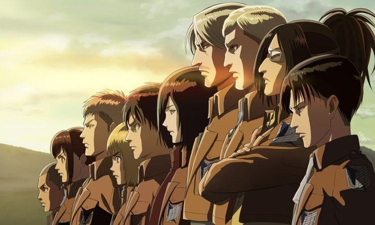 Cuál o cuáles son sus personajes favoritos de SNK sin contar a Levi?
