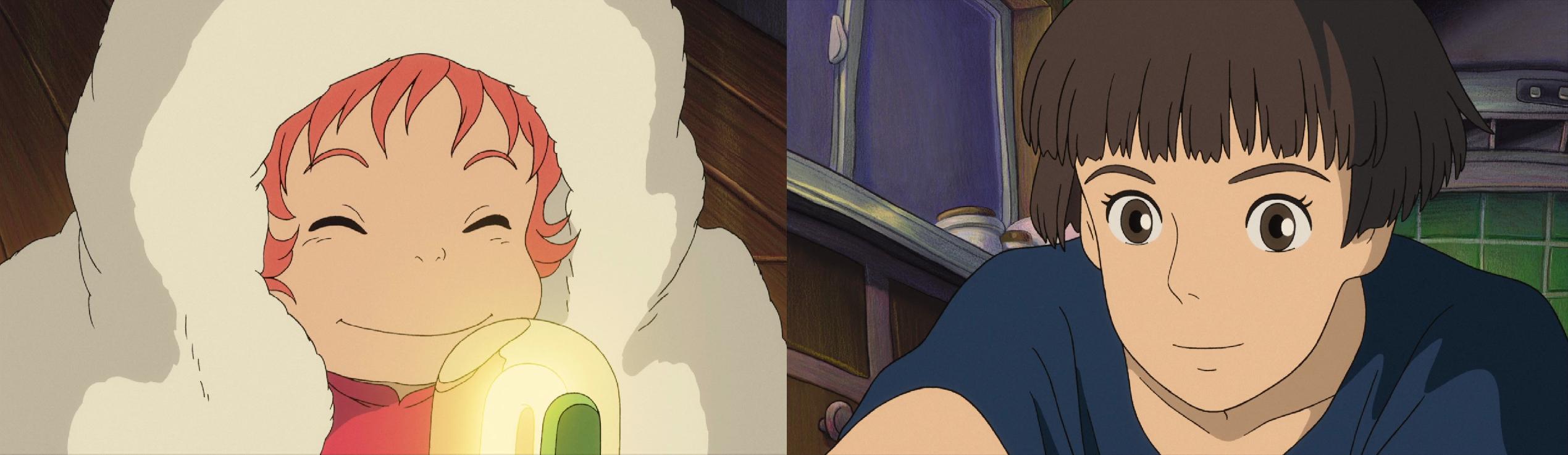 Granmamare's real daughter Lisa & granddaughter Ponyo 2