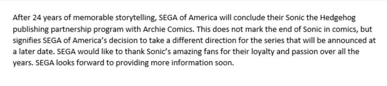 Sonic the Hedgehog on Twitter