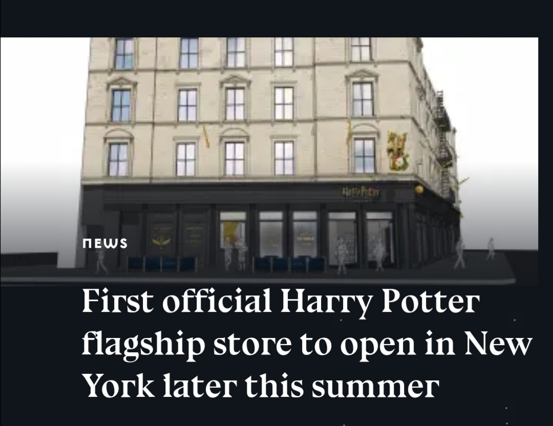 New Harry Potter shop in New York