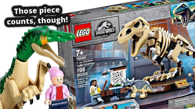 LEGO Jurassic World 2021! Some of the WORST price per piece I've seen.