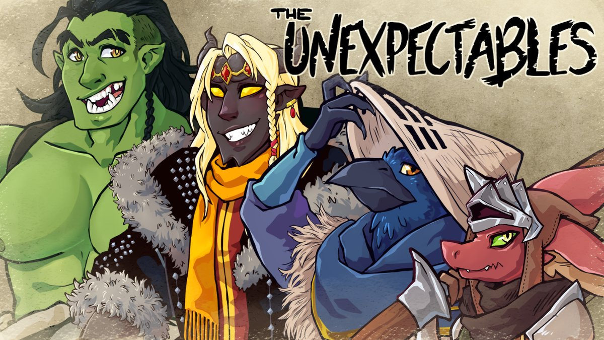 New amino page for the Unexpectables  http://aminoapps.com/invite/61FF8DNYIW