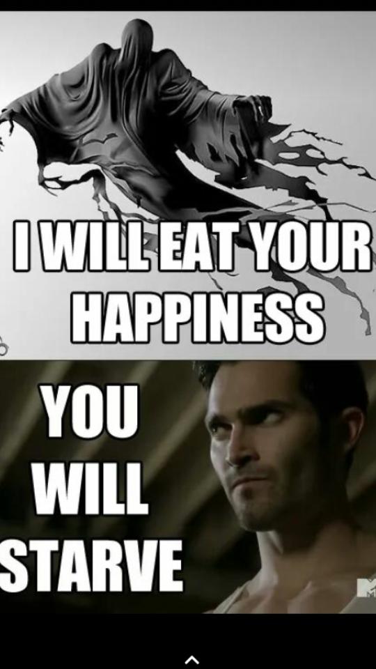 ha ha ha derek doesn't have happiness