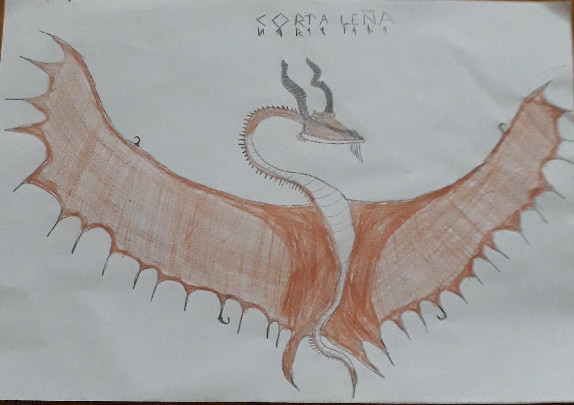 Dragon #2 (corta leña)