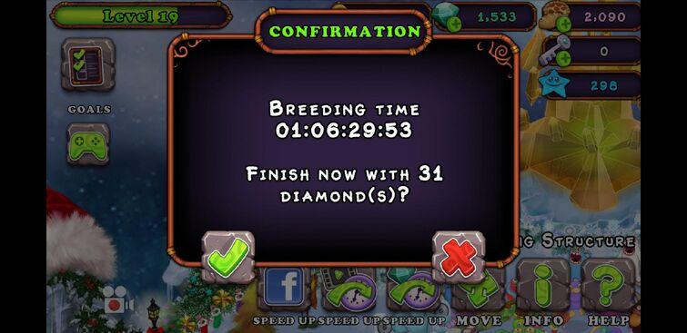 Got a rare deedge by breeding Deedge + Rare Deedge