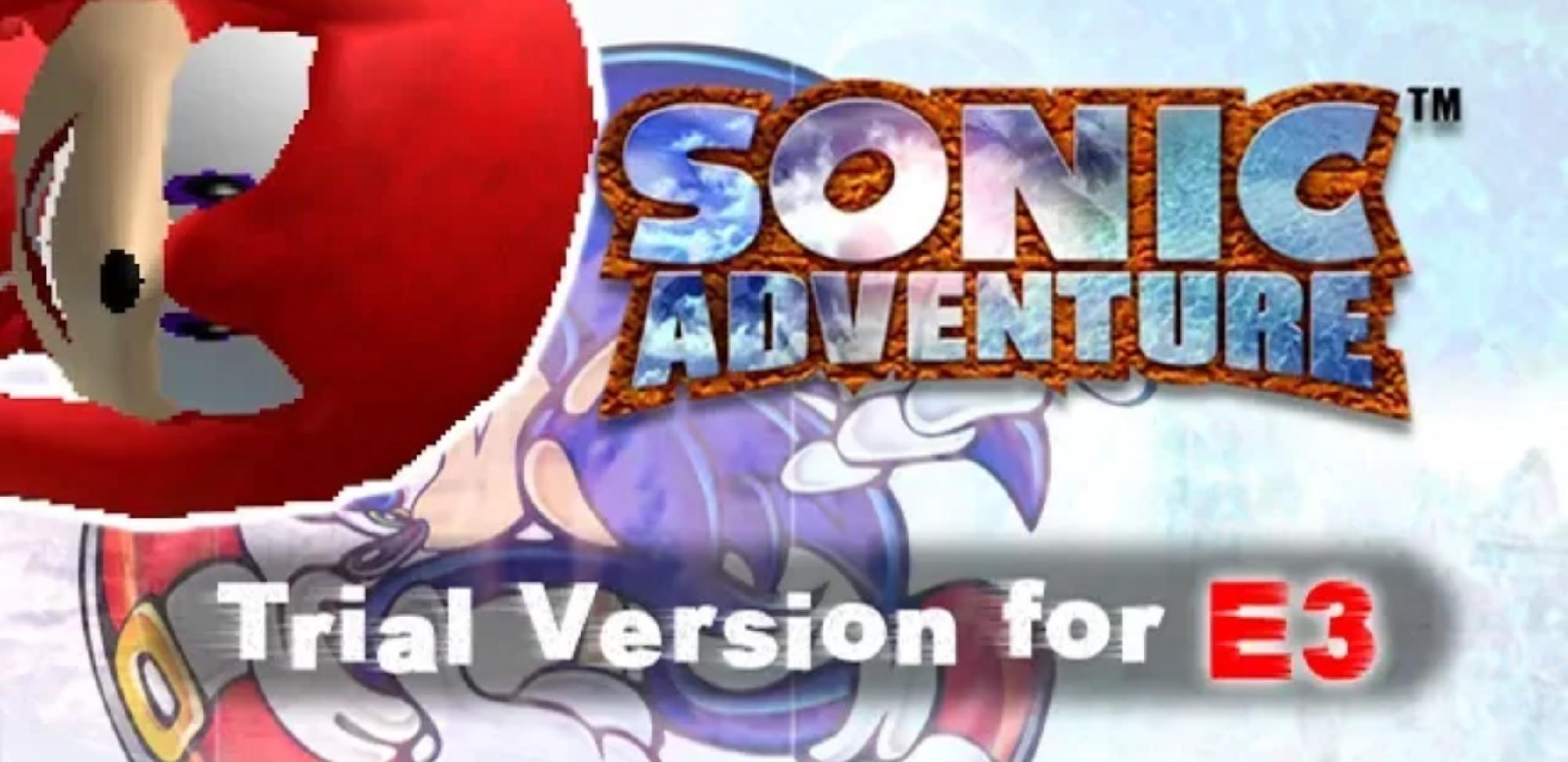 Sonic Adventure 1 E3 Demo?