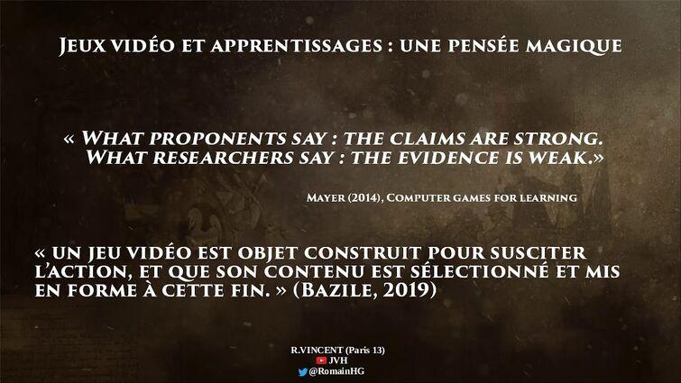 Romain Vincent - Assassin's Creed sur le chemin de l'école