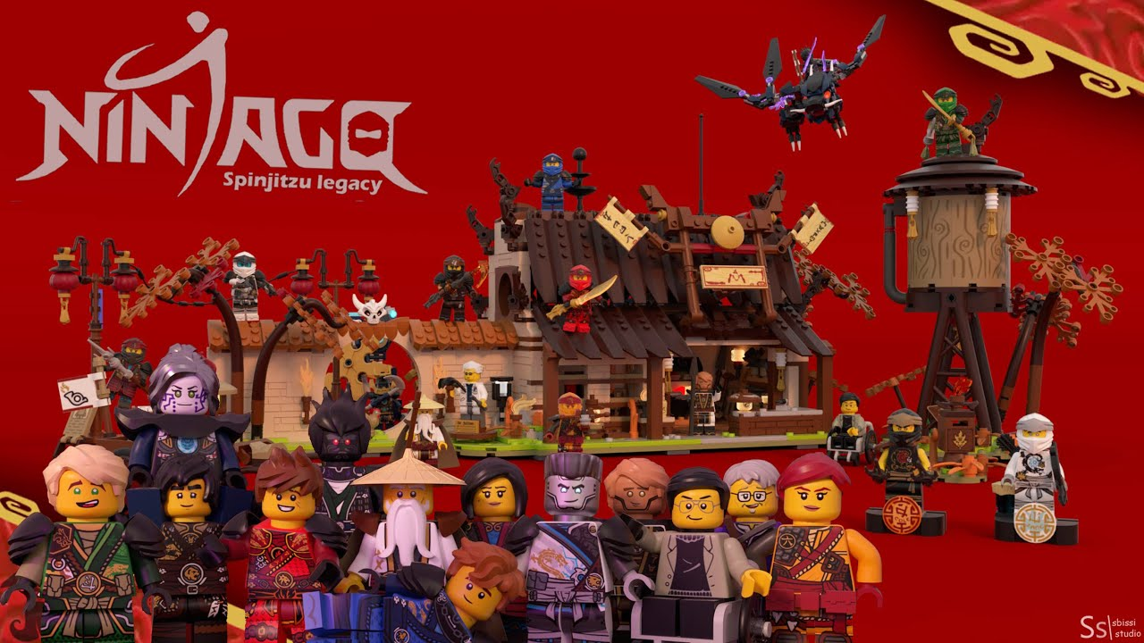 An AMAZING Ninjago LEGO Ideas Project - Way of the Ninja by Sbissi Studio (Link in Desc to Support)
