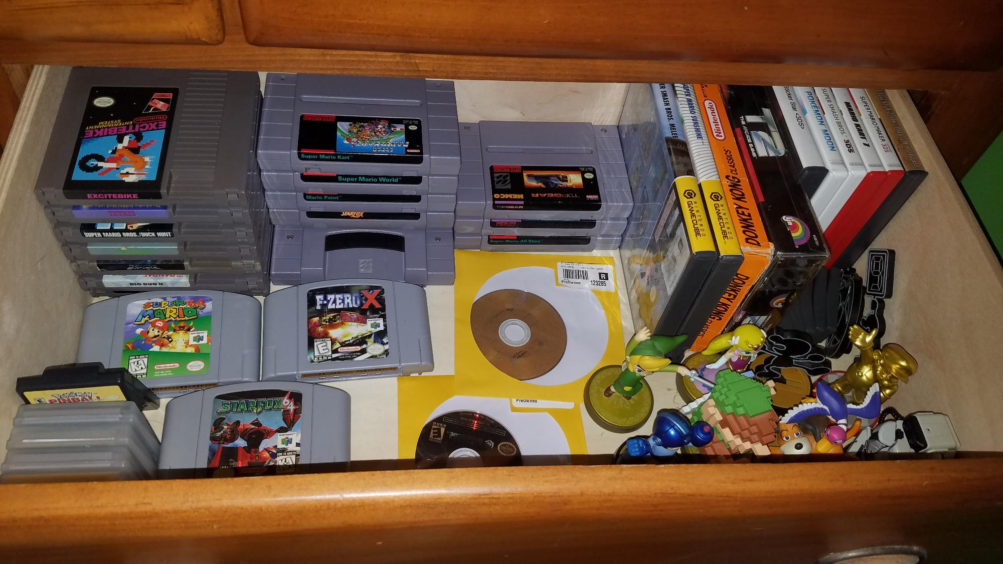 My nintendo game collection what do you think about it