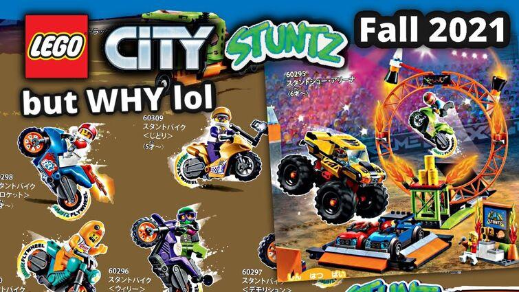 LEGO City Stuntz Fall 2021 sets! HUGE NEW subtheme - but WHY...
