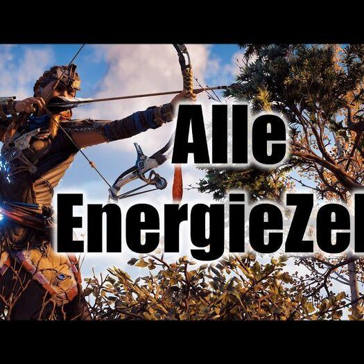 Horizon Zero Dawn Energiezellen / Schildweber Outfit Fundorte Ps4 Deutsch