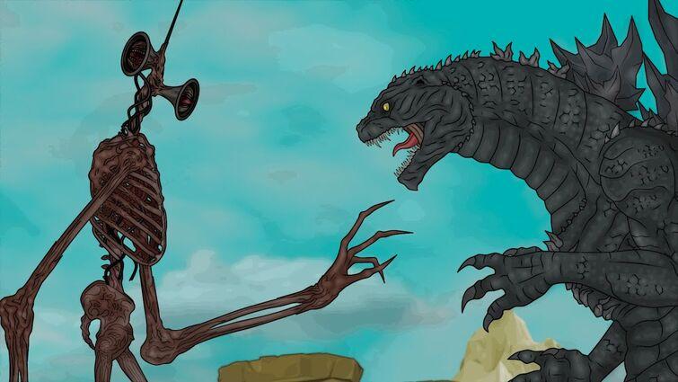 Сиреноголовый против Годзиллы / Godzilla vs. Siren Head