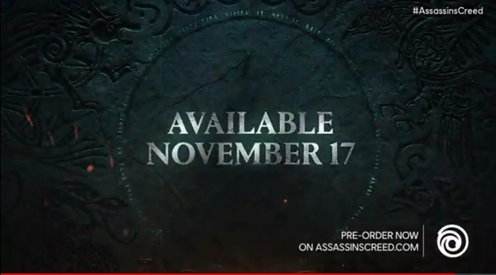 Assassin's Creed Valhalla release date revealed!