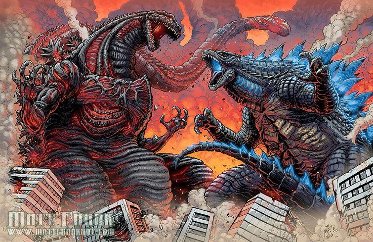 Reto ahare 3 preguntas de godzilla K.O.M [ king of monsters ] listooos