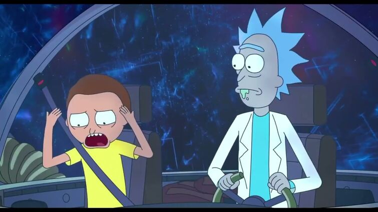 Space Jam A New Legacy Rick and Morty Cameo