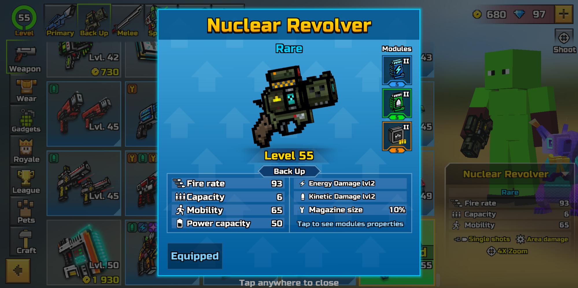 Insane Backup weapon LOL