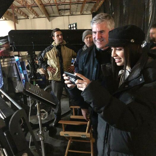 """Martin von Ruden on Instagram: """"A blast working with @sofiacarson and the cast of #theperfectionists. The secret is out this Spring on Freeform. #pll #prettylittleliars…"""""""