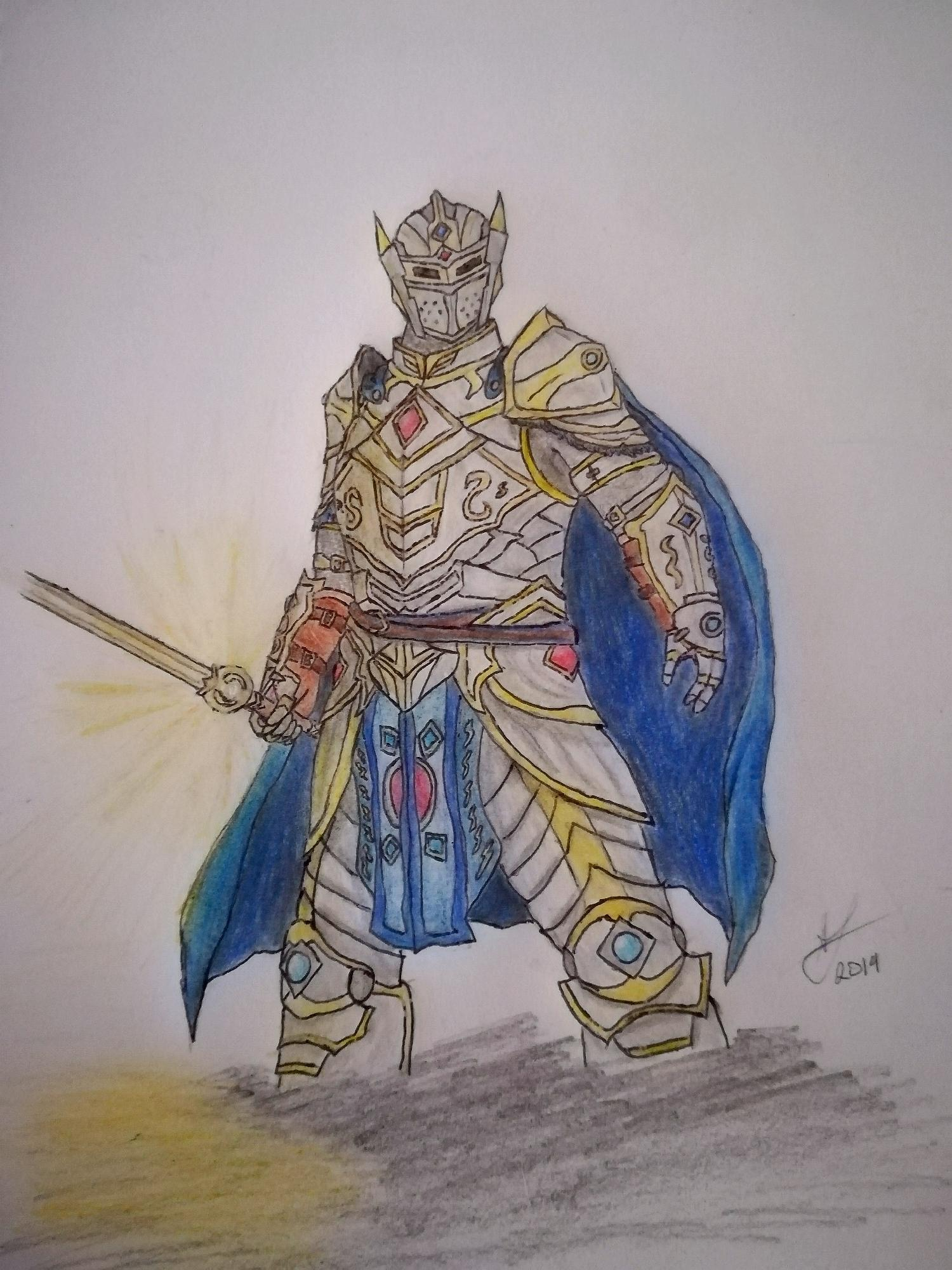 Fan-Art: Dawnknight Ver. 2