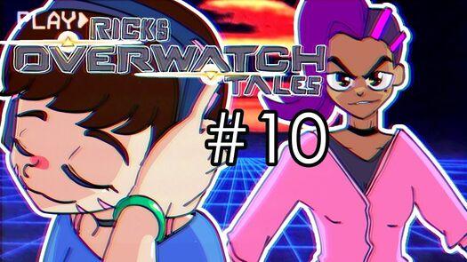 D.va vs Sombra | Ricks Overwatch Skit 10 (Animation)