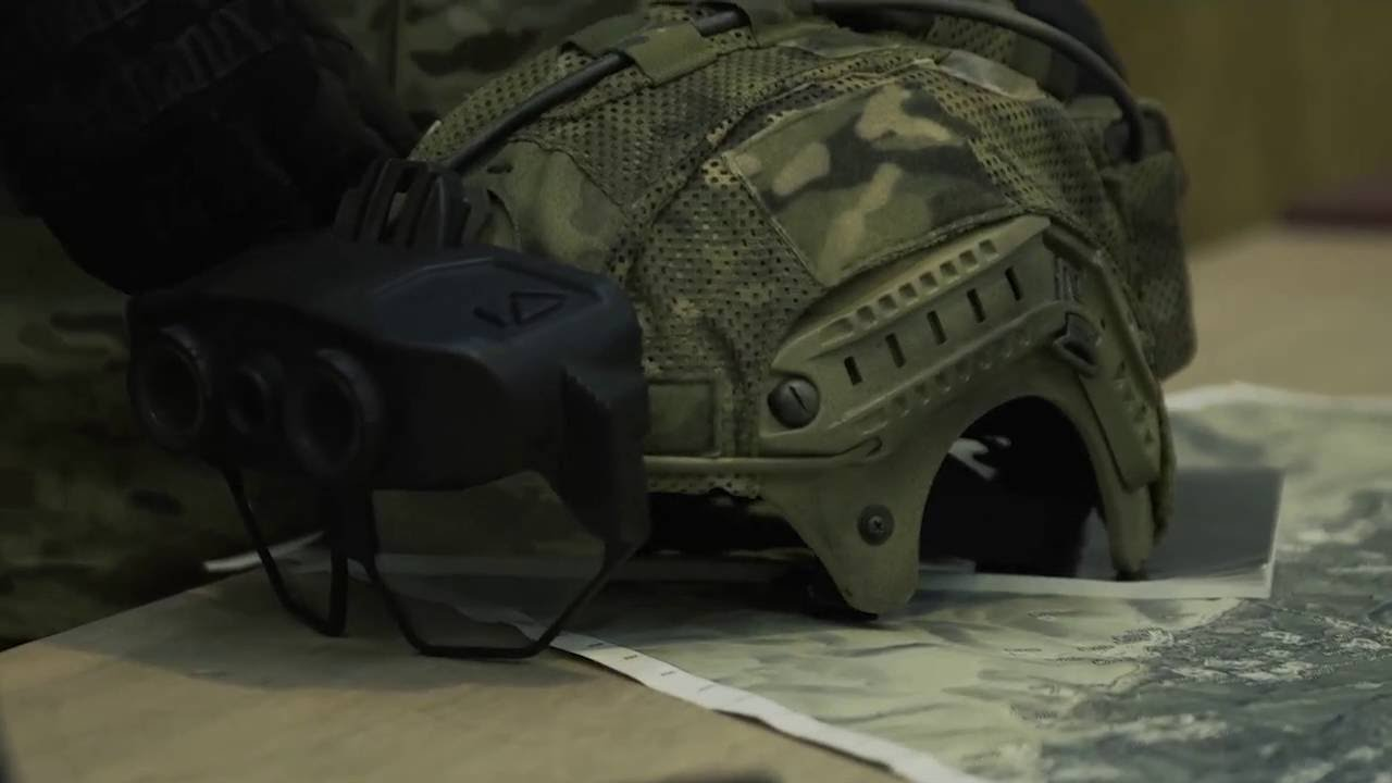 Integrated Digital Vision System for warfighters