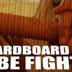 Cardboard Tube Fight