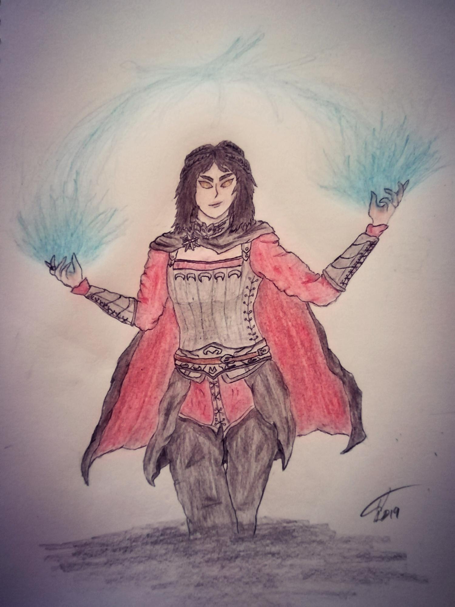 Fan-Art: Serana