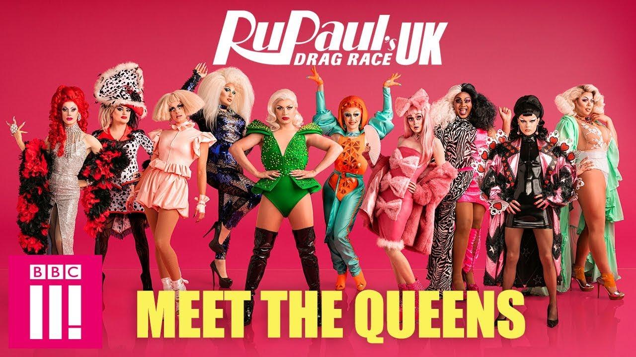 RuPaul's Drag Race UK: Meet The Queens